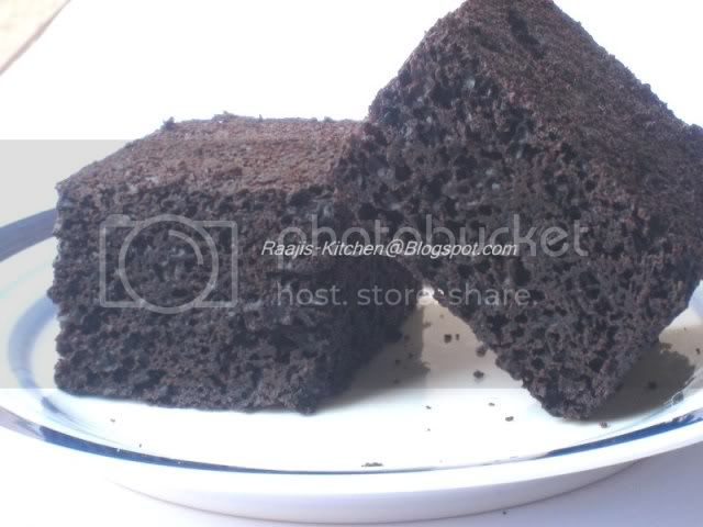 Light Chocolate Cake