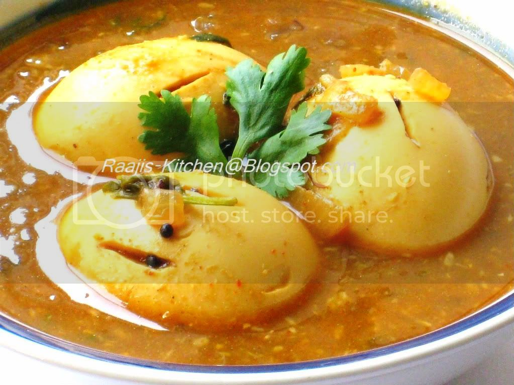 Egg Pulusu/Stew