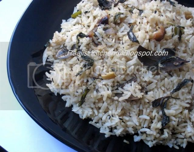 Hyderabadi Bagara Rice