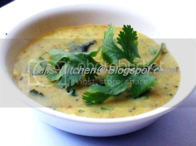 Spicy Moong dal
