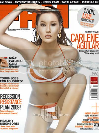 Carlene Aguilar FHM Philippines January 2009