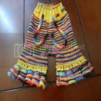 rainbow capris for your little rainbow